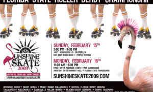 GRR Plays Sunshine Skate Feb. 15-16