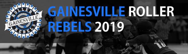 Gainesville Roller Rebels ← Athleticism  Community  Empowerment